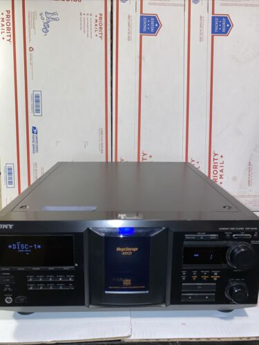 Sony Compact Disk Player CDP-CX455 Holds 400 Discs - $100.00