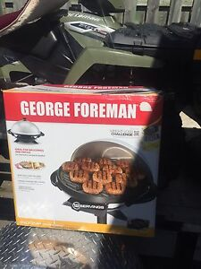 George Foreman grill. New unopened