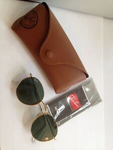 Authentic Ray Ban Round Metal Classic Women's Sunglasses