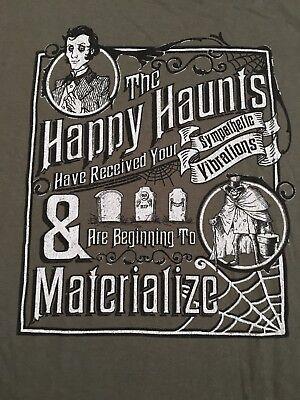 NWT Cast Exclusive Disney Haunted Mansion T Shirt Mens XXL Happy Haunts