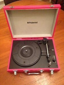Polaroid Suitcase Record Player