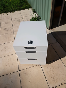 Lockable desk draw ikea Samson Fremantle Area Preview