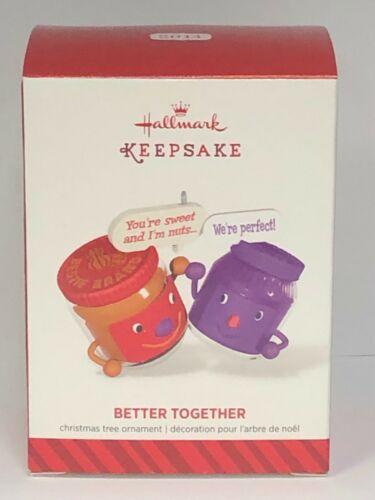 2014 Hallmark Keepsake Ornament Better Together Peanut Butter And Jelly