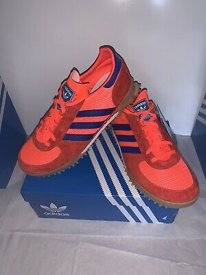 Adidas MARATHON TR EF8875 Size UK 9 RED/ORANGE/NAVY BNIBWT.