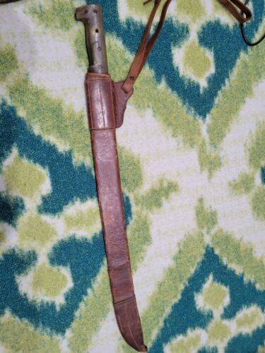 Spanish American War Rough Rider and Cuban Rebel Collins Machete No. 22