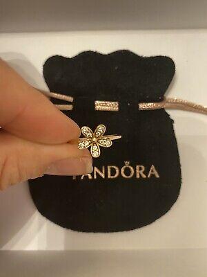 Pandora Rose Gold Daisy Ring Size 54