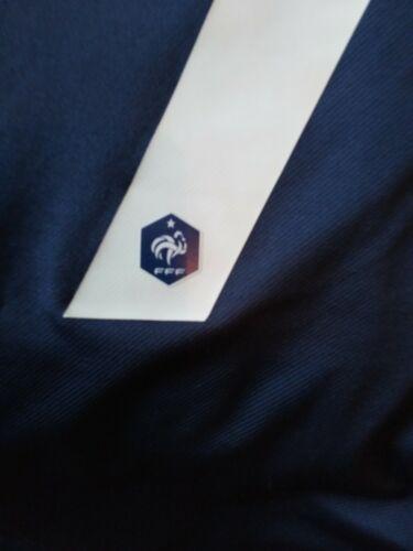 Tee shirt de l'equipe de france fff taille l