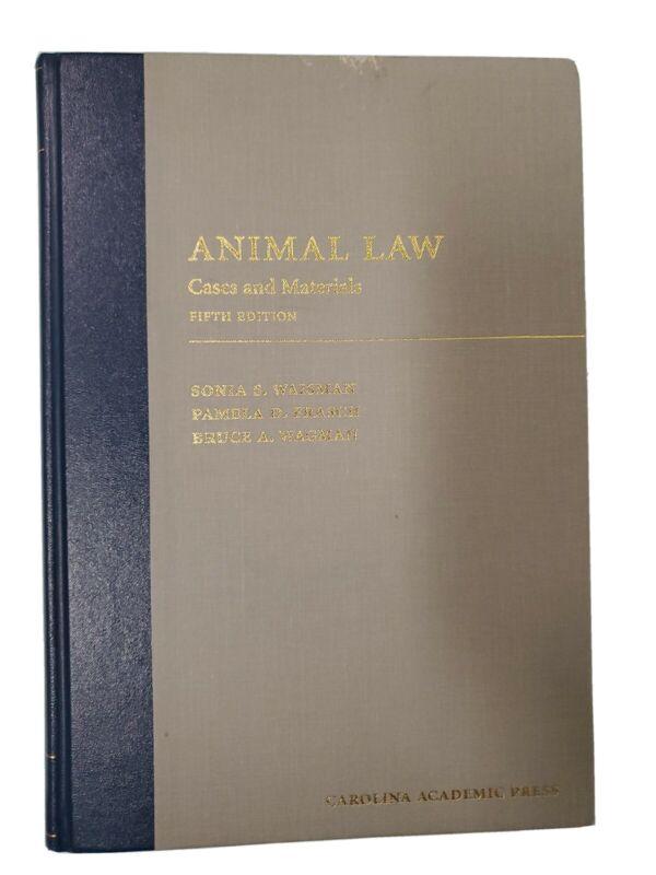 Animal Law Fifth Edition