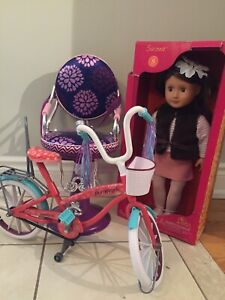 Journey Doll Bike & Salon Chair