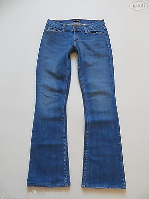 Levi's Booty Flare Jeans Hose, W 30 /L 32, TOP ! Faded washed, Vintage Denim !