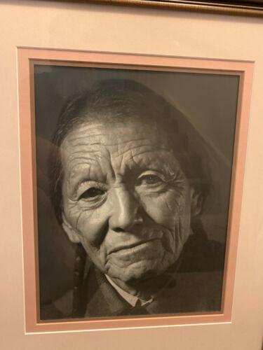 Vintage Navajo Photo portrait