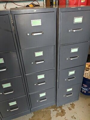 Hon 4 Drawer File Cabinets - Used - Auction Is For One 1 File Cabinet Each