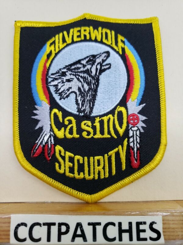 SILVERWOLF CASINO, MONTANA SECURITY (POLICE) SHOULDER PATCH MT