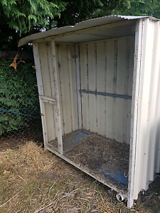 Steel and colourbond homemade aviary or hutch Bridgewater Adelaide Hills Preview