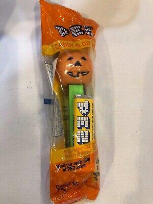 Pez JackOLantern Pumpkin Halloween Dispensers,Candy&Games Vintage Retired w/Feet