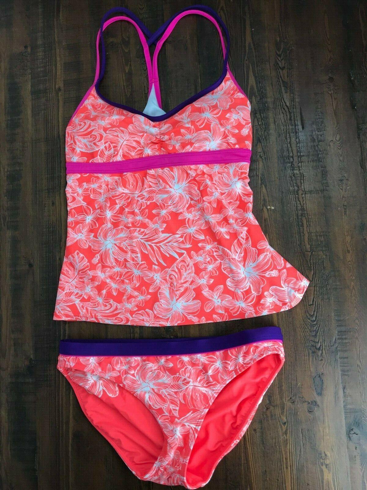 Athleta Tank Top and Swim Brief Two-Piece Swimsuit