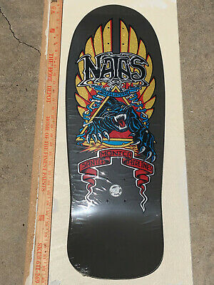 Natas Kaupas Panther Skateboard deck New in shrink Santa Cruz SMA