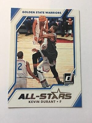 2017-18 Panini Donruss - All-Stars #3 - Kevin Durant - Golden State Warriors