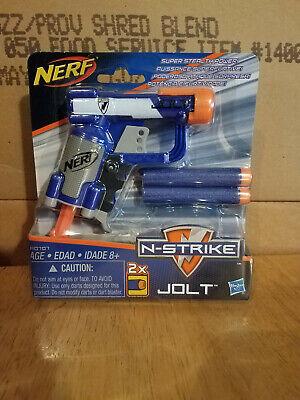 NERF Gun N-Strike Jolt Blaster Gun & 2 Darts NEW