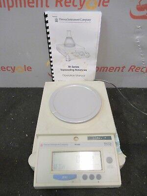 Denver Instrument Company Tr-402 Toploading Digital Balance Scale Lab