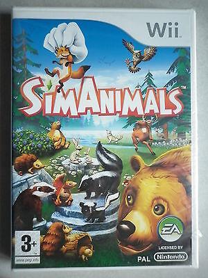 Simanimals Jeu Vidéo Wii