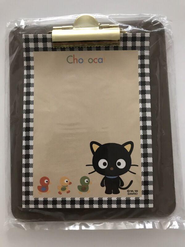 Sanrio Vintage 1999 Chococat Memo Pad Stationary with Clipboard NWT Rare Sealed