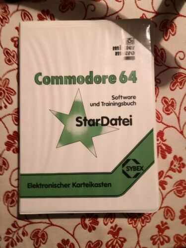 Star Datei F r Commodore 64 C64 Ovp  - 3,50€