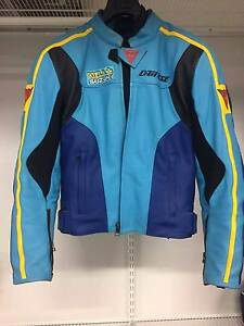 Blue Suzuki Rizla Dainese Leather motorcycle jacket Gwelup Stirling Area Preview