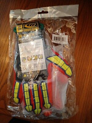 Ringers R-flex Cut Resistimpact Nitrile Gloves065-09 Medium 1 Pair