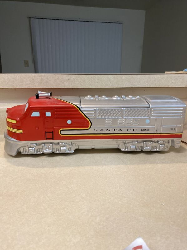 Vintage Enesco 480117 Lionel Santa Fe Locomotive Train Cookie Jar