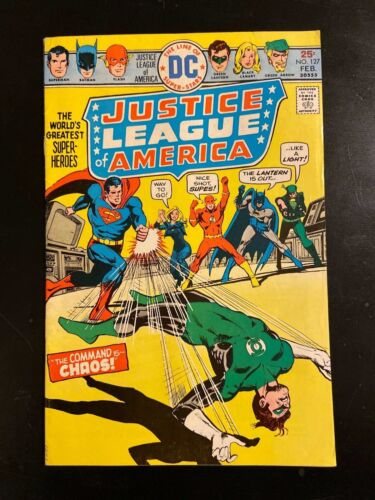 DC Justice League of America #127, 1976!