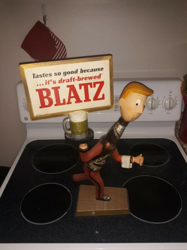 Vintage Blatz Beer Waiter Metal Advertising