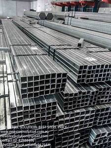 GALVANISED STEEL TUBE 50MM*25MM*2MM  AS FENCING POST,FABRICATION Smithfield Parramatta Area Preview