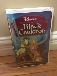 Disney  vhs cauldron rare  movie