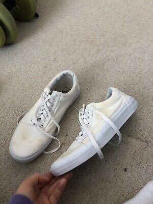 Vans White Size 8
