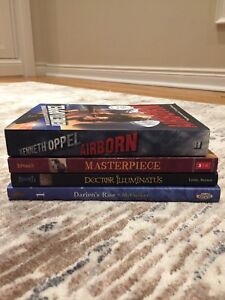 4 NEW books - various authors ($3 each or 4 for $10)