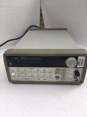 Agilent 33120a 15 Mhz Function Arbitrary Waveform Generator.