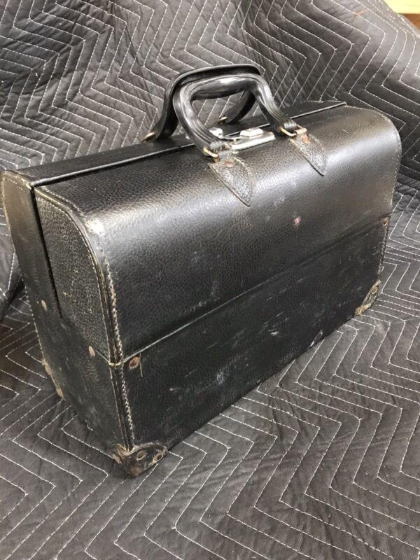 Antique Vintage Traveling Leather Doctor