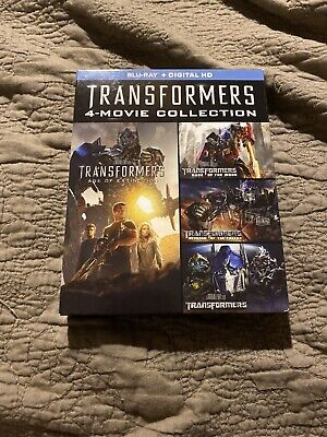 Transformers Complete 4-Movie Collection (Blu Ray, 2014, 4-Disc Set)