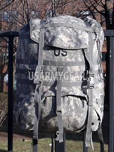 Made-in-USA-Army-MOLLE-II-Ruck-Sack-ACU-Digital-Rucksack-Back-Pack-Main-Bag-USGI