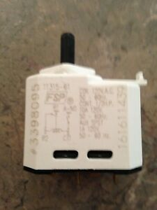 Dryer starter switch for whirlpool
