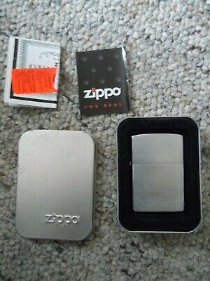 Zippo Lighter Vintage Brass Zippo 2000 XVI