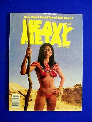 """Heavy Metal July 1990: Donald Trump satirised in """"The Wall."""""""