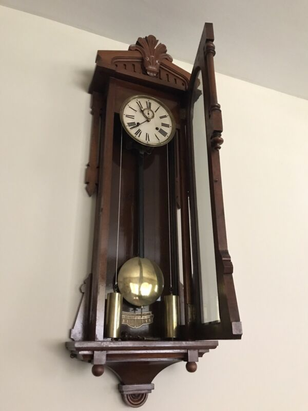 Antique Ansonia Baghdad Weight Driven Wall Clock