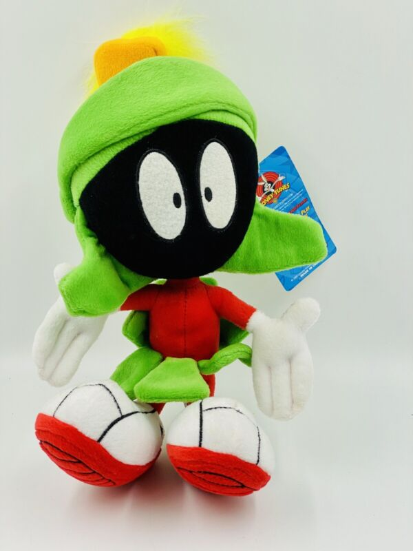 Marvin the Martian Plush Stuffed Toy Looney Tunes  12 Inch Vintage