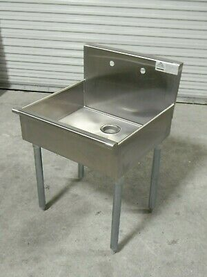 Advance Tabco Free Standing Service Sink 18 Ga. Stainless Steel 4-op-18