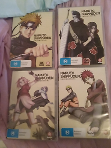 Naruto Shippuden seasons 1-4 Berriedale Glenorchy Area Preview