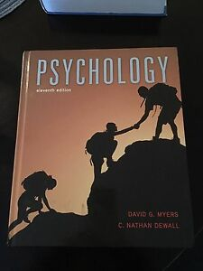 Psychology Textbook - Eleventh Edition