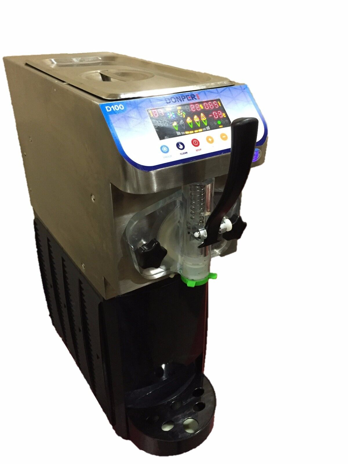 New Soft Serve Ice Cream Frozen Yogurt Machine