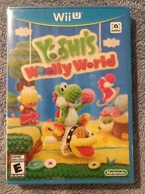SEALED Yoshi's Woolly World (Wii U) Brand New FAST FREE SHIP
